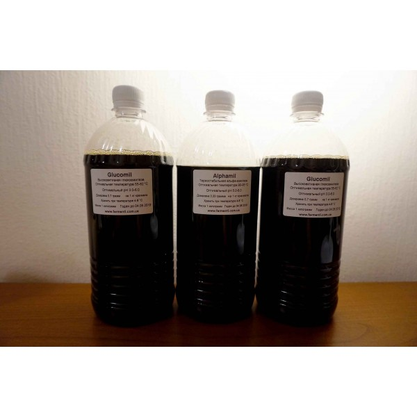 Комплект Alphamil + Glucomil на 3 тонны крахмала